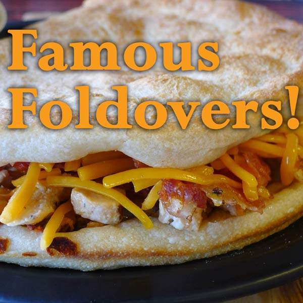 Famous Foldovers at Pizzazios Pizza in Wadsworth